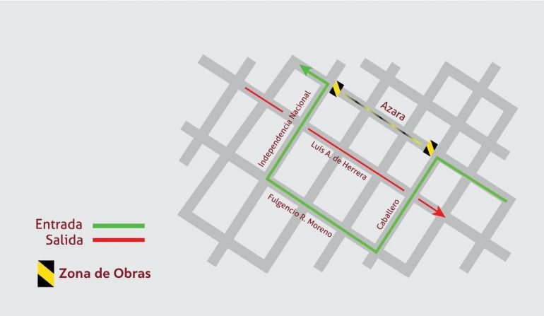 Operativo 24/30 inicia este viernes 29 el fresado y bacheo de la calle Azara