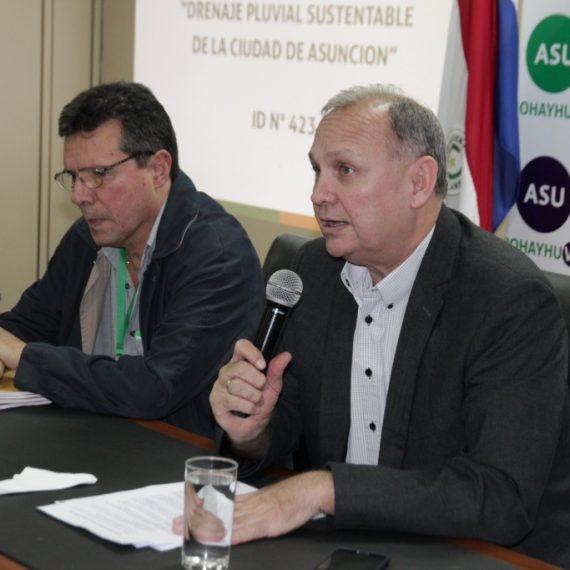 Comuna triplicará cobertura del desagüe pluvial de Asunción