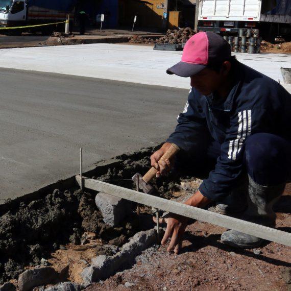Pavimento de hormigón hidráulico