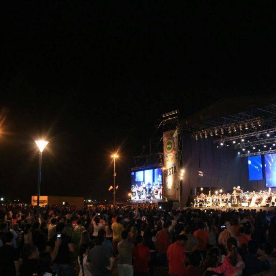 Serenata a Asunción congregó a miles de personas de la capital y de otras ciudades en la Costanera