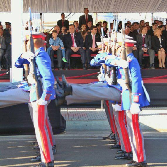 Se realizó el Desfile Militar en Homenaje a Asunción