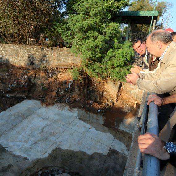 Bajo el puente de Artigas se colocará un piso de alta resistencia