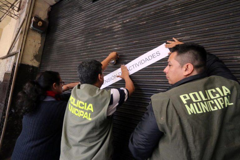 Por tercera vez Municipalidad procedió a suspender actividades de una Metalúrgica en Villa Morra