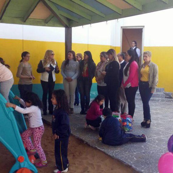 TEDIM recibe importante donación de juegos temáticos para los niños
