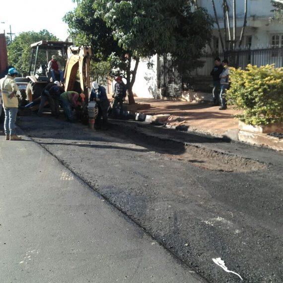 López de Filippi tiene desagüe pluvial funcionando y calles asfaltadas en barrio San Vicente