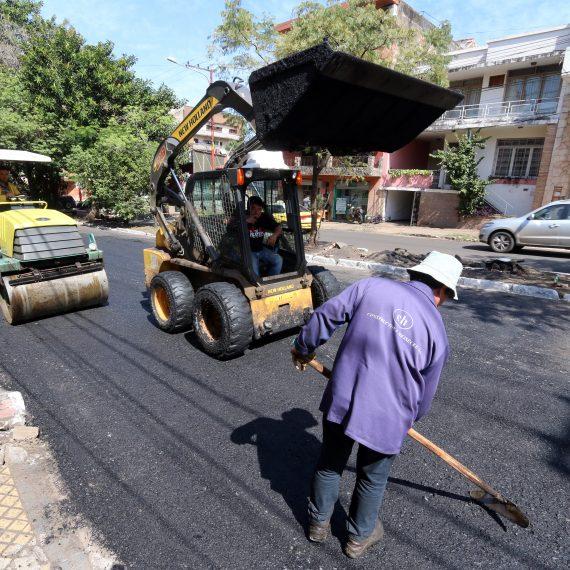 Municipalidad le cambia la cara a la calle Ygatimi y su continuación Rodríguez de Francia