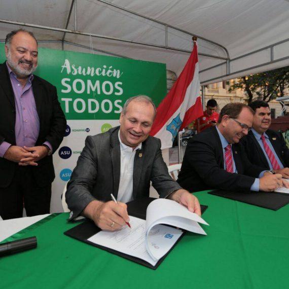 """Municipalidad acuerda con Comité Olímpico Paraguayo apoyo al programa  municipal """"Asunción Deportiva"""" c47682016337b"""