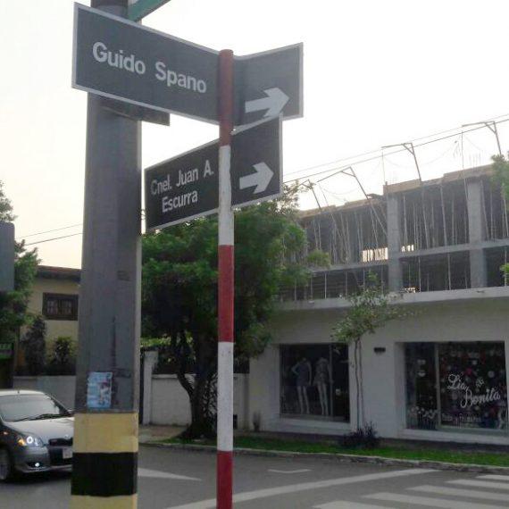 Ya se encuentra vigente sentido único de la calle Guido Spano