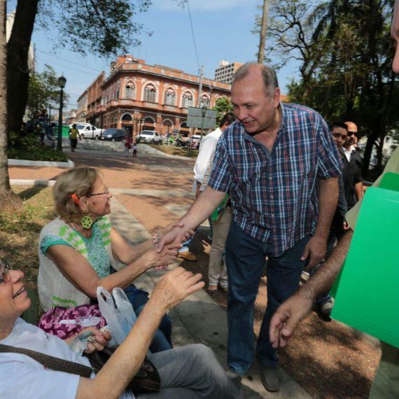 Vecinos de la Chacarita y de otros barrios aledaños participaron activamente de la séptima jornada de Gobierno Municipal en la Plaza Uruguaya