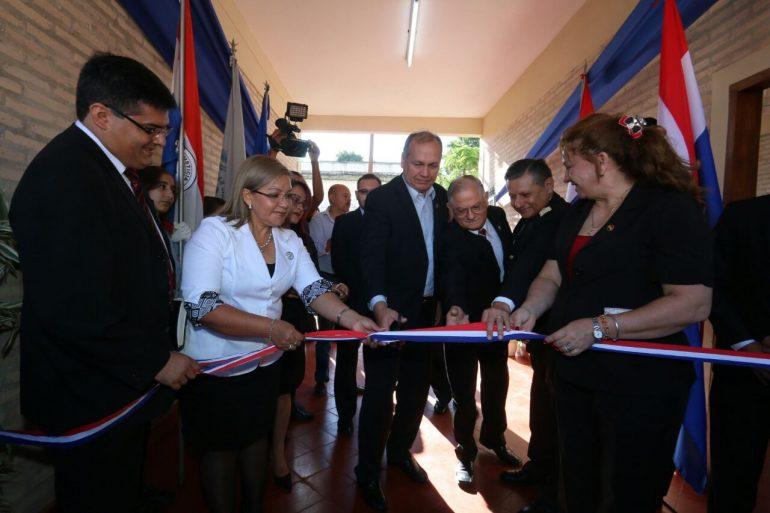 Reinauguraron Escuela y Colegio Dr. José Gaspar Rodríguez de Francia con fondos provenientes de FONACIDE