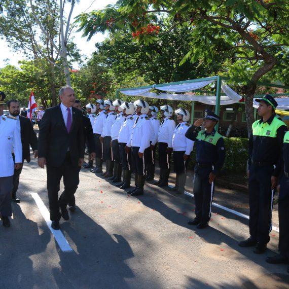 Intendente presente en festejo por 51º Aniversario de la Policía Municipal de Tránsito (PMT)