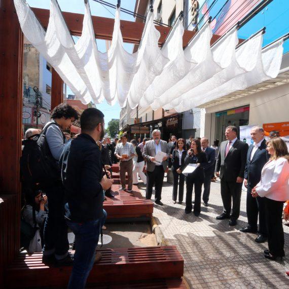 En marcha plan piloto de jerarquización de espacios peatonales en la calle Palma