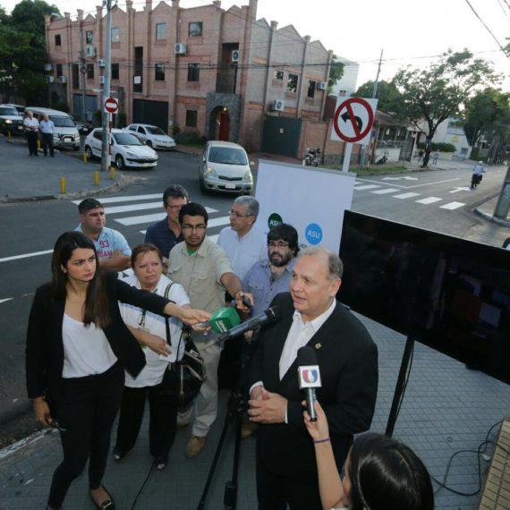 Intendente inauguró regularización asfáltica de la calle Siria, un nuevo desafío cumplido