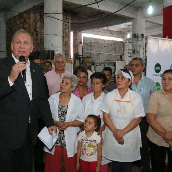 Plan Operativo de Fin de Año 2016 del Mercado Municipal Nº 4 fue lanzado por el intendente Ferreiro