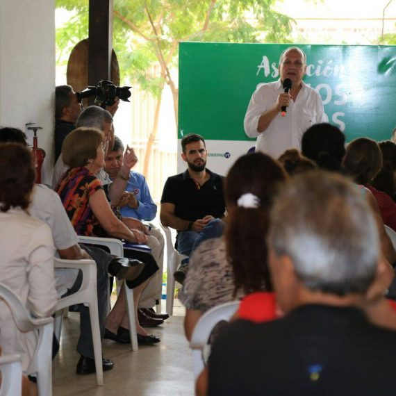 Gran concurrencia de vecinos tuvo la última jornada de Gobierno Municipal del año en Bo. Las Mercedes