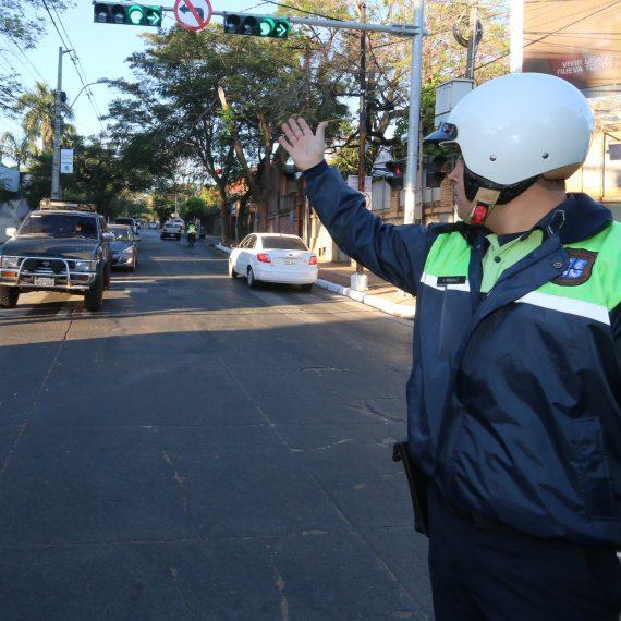 PMT tiene listo el operativo de ordenamiento del tránsito para el rally Dakar en Asunción