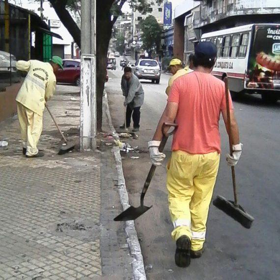 """La Dirección de Servicios Urbanos realizará la cobertura integral de limpieza en el marco del operativo """"año nuevo y el #Dakar 2017""""."""
