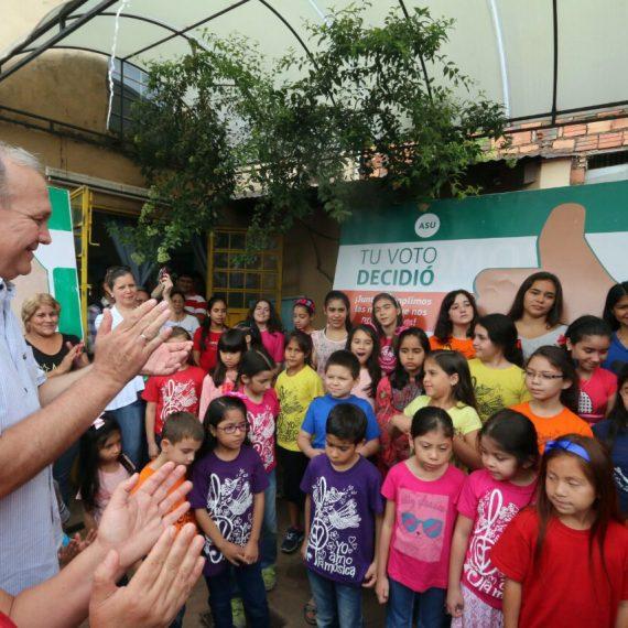 """Equipamiento del Centro de Educación Inicial """"San Cayetano"""", es otro de los Desafíos Asu cumplido"""