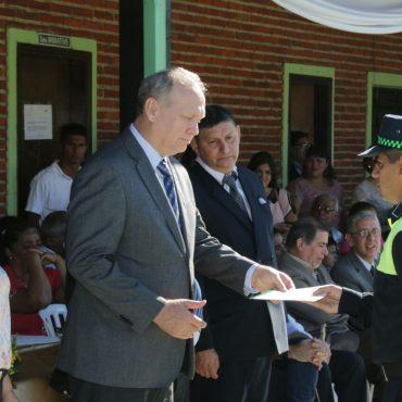 Intendente de Asunción entregó diplomas a 23 nuevos Policías Municipales de Tránsito