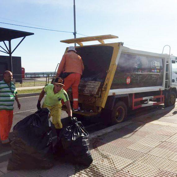 1.900.000 kilos de basura fueron recolectados durante el fin de semana en Asunción