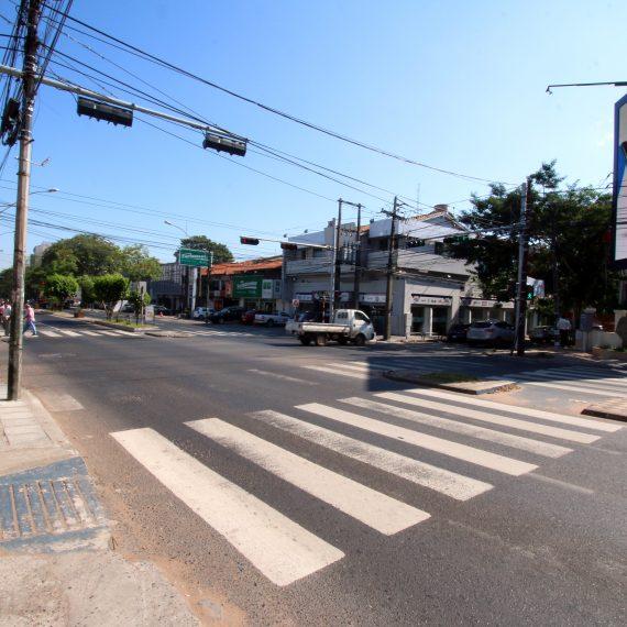 Senador Long y avenidas Mariscal López