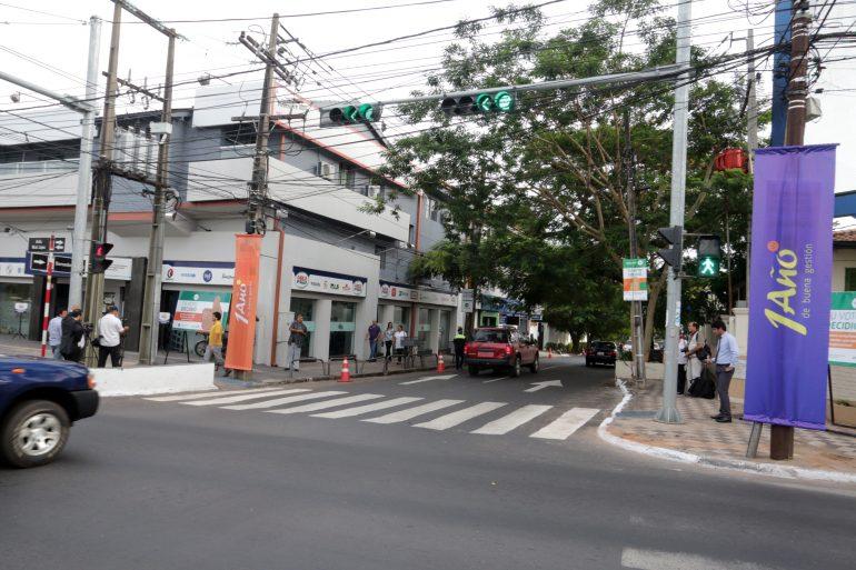 Nueva carpeta asfáltica en la calle Senador Long es un nuevo Desafío Asu cumplido