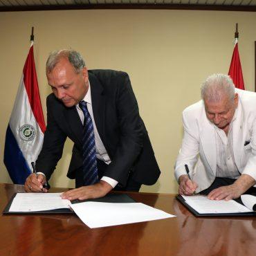 Cruz Roja Paraguaya y la Municipalidad formalizan importante alianza interinstitucional