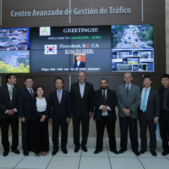 KOICA seguirá cooperando con la Municipalidad para mejorar señalización en el tránsito
