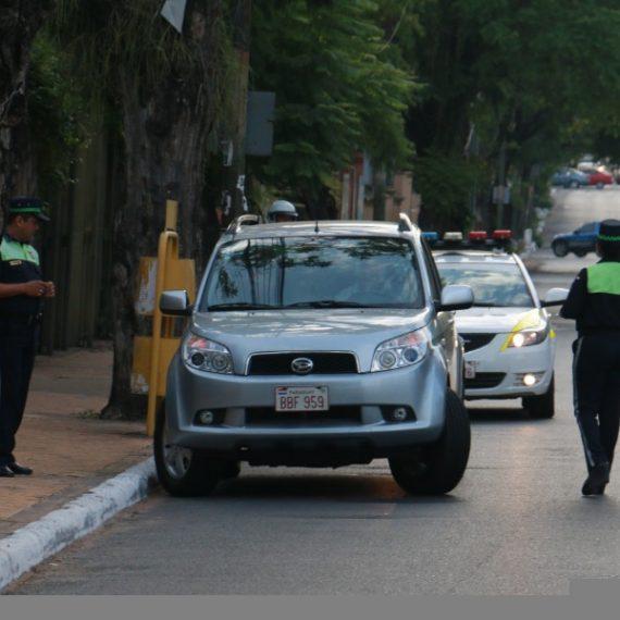 En Asunción rige la tolerancia cero de alcohol a la hora de conducir