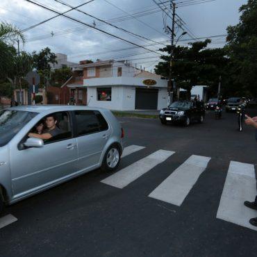 Regularización asfáltica de la calle Azara, en un tramo de 5 cuadras, fue inaugurada
