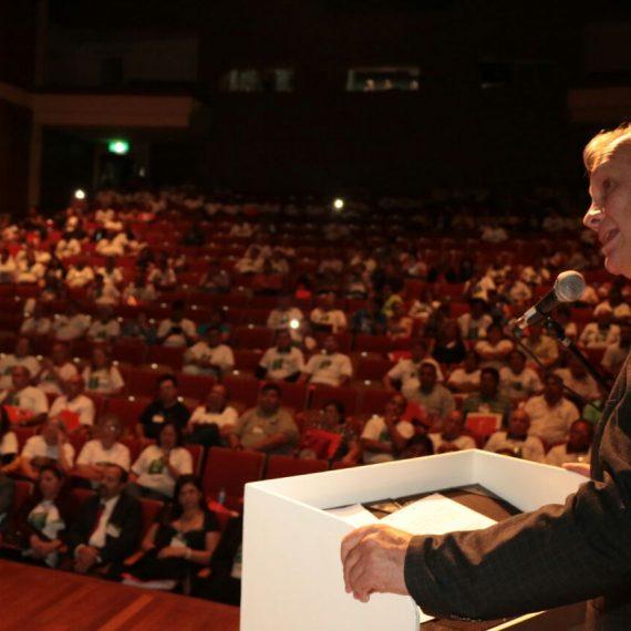 Líderes barriales de diferentes barrios de Asunción participaron del 21° Congreso de Comisiones Vecinales