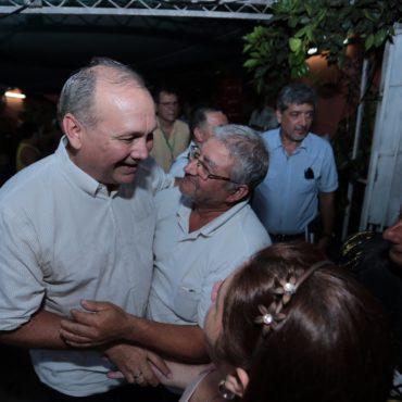 Vecinos de Loma San Jerónimo se reunieron con el intendente Ferreiro