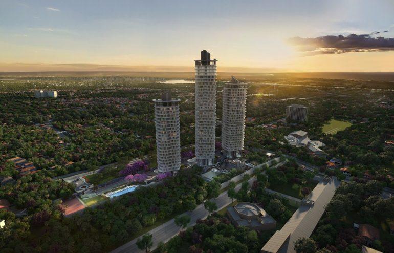 Acceso temporal de obra Jade Park con avenida Santísima Trinidad se construyó en propiedad privada