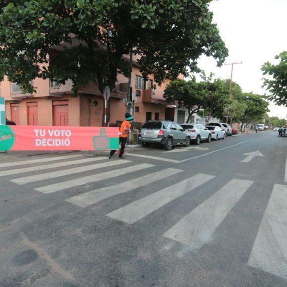 Regularización asfáltica de un tramo de la calle Juana Pabla Carrillo fue habilitada en el marco de los Desafíos Asu