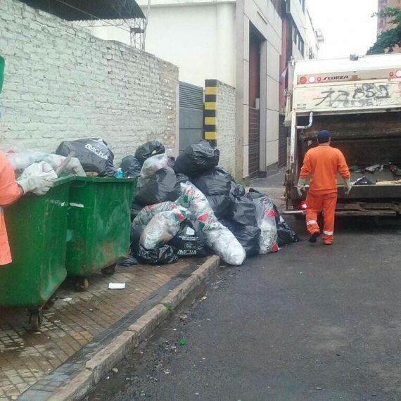 Más de 35 mil kilos de basura recolectada en el Centro Histórico luego la fiesta de San Patricio