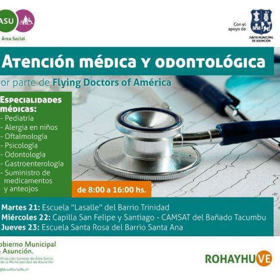 Flying Doctors of América en Asunción