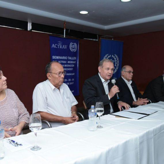 Intendente Ferreiro participó de Seminario sobre Migración Laboral