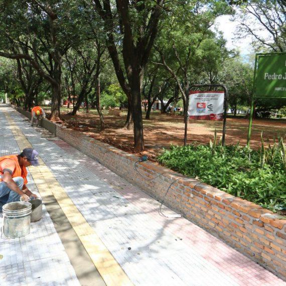Revitalización de la Plaza Pedro Juan Caballero es encarada por la Municipalidad para tornarla inclusiva