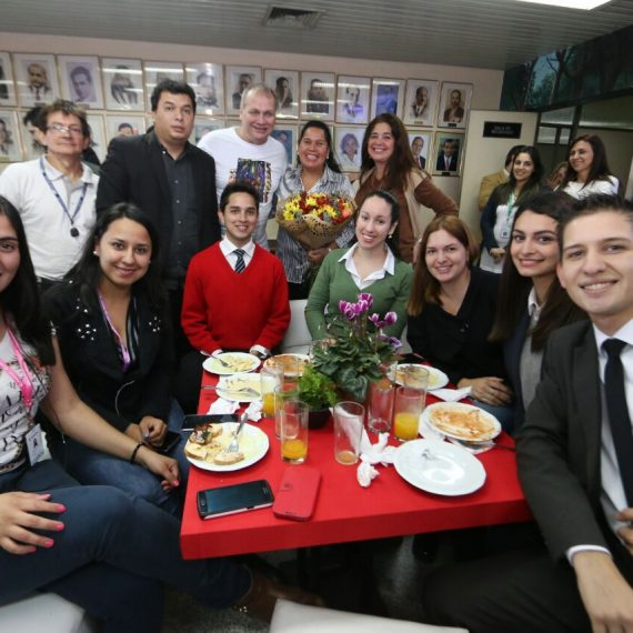 Intendente compartió con comunicadores  que cubren las noticias municipales