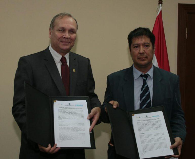 Intendente firmó un convenio de cooperación con ONU - Habitat (3)