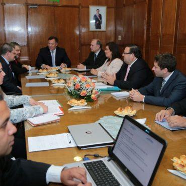 El intendente de Asunción, Mario Ferreiro participó, a primera hora de este lunes 24 de abril, de la Primera Reunión Anual de la Agencia Nacional de Tránsito y Seguridad Vial (ANTSV).