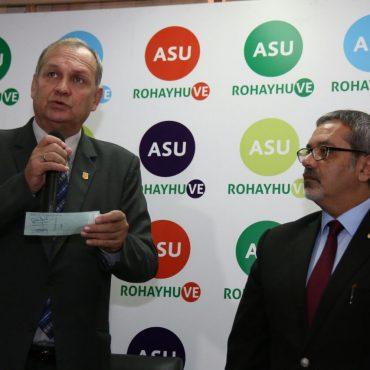 Aporte comunal para la construcción del Memorial del Ycuá Bolaños