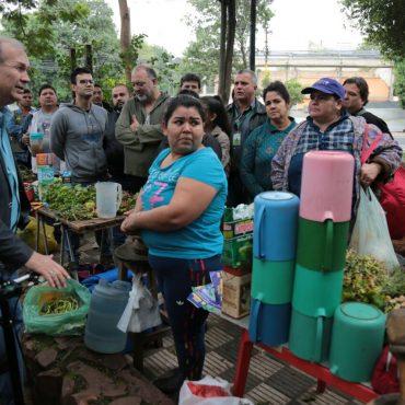 Intendente reconoció error y pidió personalmente disculpas a vendedores de la Plaza Infante Rivarola