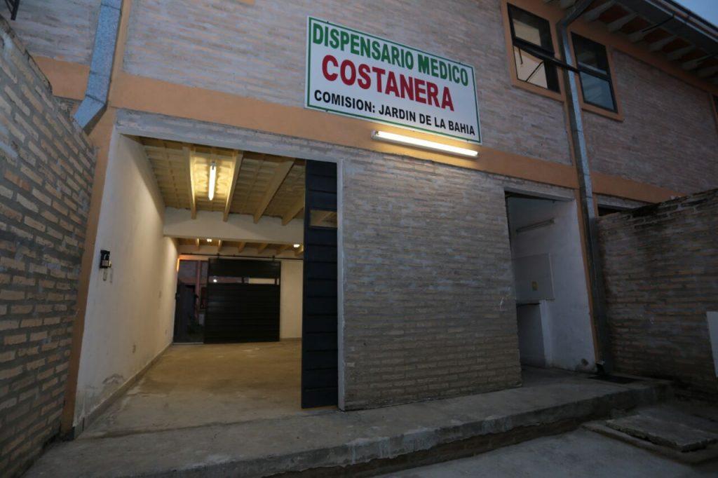 Barrio General Santos de la Costanera ya cuenta con centro comunitario y dispensario médico