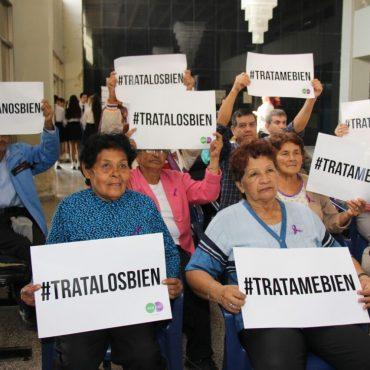 En marcha campaña municipal de sensibilización contra la violencia hacia el Adulto Mayor