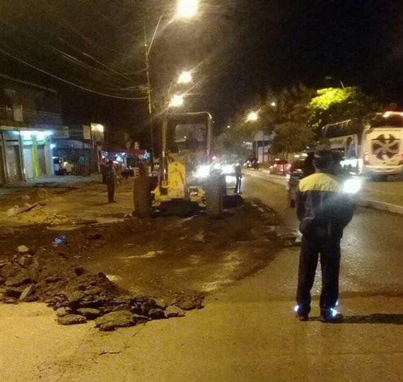Bacheo día por día: Inicia la semana con intensificación de trabajos en diversos puntos de Asunción