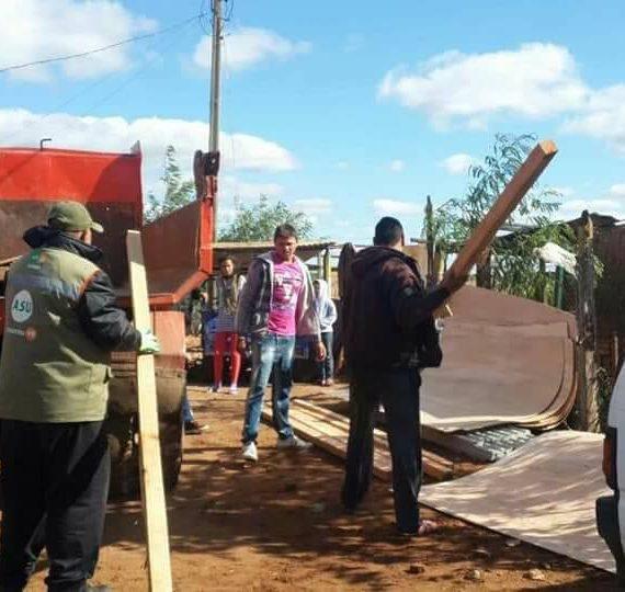 Río Paraguay se estaciona en 4,98 metros pero prosigue asistencia municipal a familias afectadas por la crecida