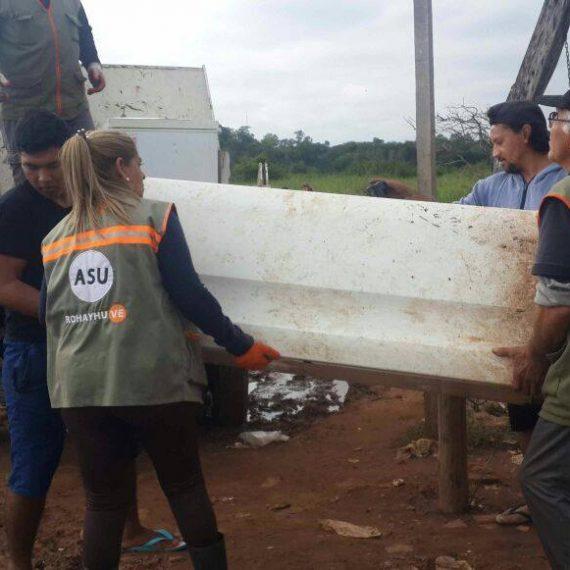 Municipalidad ya evacuo a unas 1000 familias afectadas por la crecida del rio