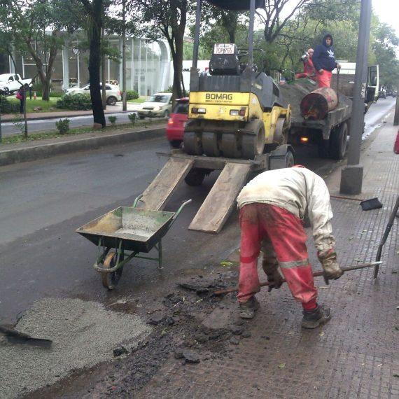 Bacheo día por día: Cuadrillas municipales trabajaron en los siguientes puntos en esta jornada