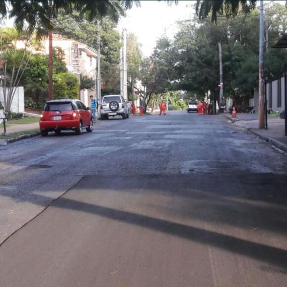 Bacheo día por día: Gran avance de tareas de bacheos en calles de la capital